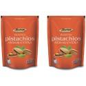 Tulsi Roasted Pistachios Akbari Extra Lightly  Salted 400gm (200gm x 2)