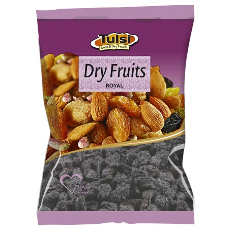 Tulsi Black Raisins Seedless/Kali Drakh Mazari (Best Quality) 250g