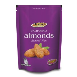 Tulsi California Roasted Almonds Lightly Salted 200g