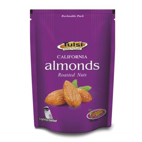 Tulsi Roasted Almonds Lightly Salted 200g
